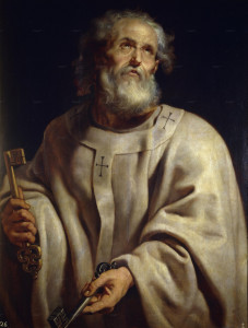 Рубенс, «Апостол Пётр»
