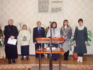 Участники торжественного служения