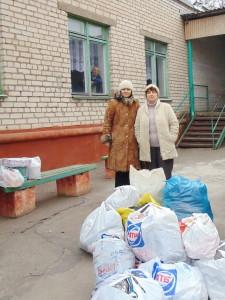 Гуманитарная помощь от церкви