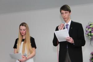 Елена Манякина и Влерий Ридванский