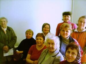 Участники лагерного собрания