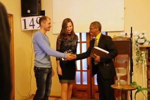 Поздравление пастора
