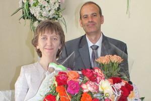 Наталья Дидук с мужем Максимом