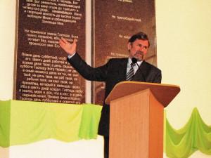 Сергей Молчанов в Никополе