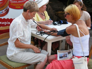 Выставка здоровья в Кривом Роге