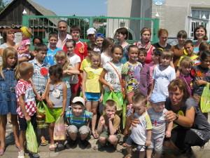 Каникулярная школа в Лозовой