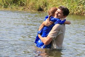 Александр крестил свою дочь