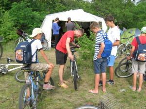 Велосипеды требуют ухода
