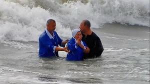 Крещение в бурных водах