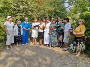 Лидия Иваненко перед крещением