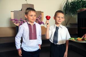 Будущие школьники готовятся к первому звонку