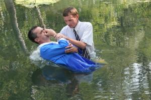 Крещение Александра Гряненко