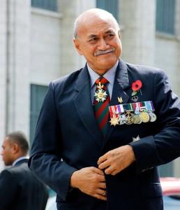 Konrote, 67 лет, вырос в рядах вооруженных сил Фиджи, чтобы стать единственным фиджийцем, назначенным командующим силами Организации Объединенных Наций в 1970-х. (Правительство Фиджи)