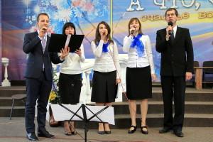 Криворожские музыканты запевают общее пение