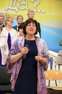 Елена Носова - руководитель музыкального служения УУК