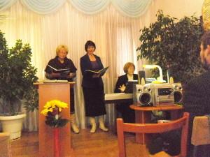 Служение посвящения в Терновке