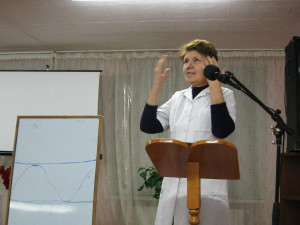 Занятия с медико-миссионерами