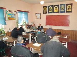 Евгений Суворов и Александр Кирюхин изучают Библию