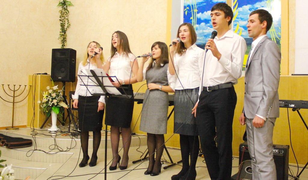 Выступление Харьковской молодёжи