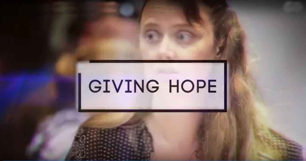 Кадр из видеофильма о работе бесплатной клиники