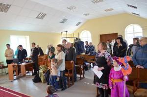 Торжественное служение в десятой церкви