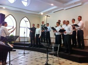 Выступление музыкального коллектива
