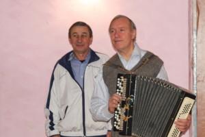 Валерий Рябков и Степан Кампен на полевой школе