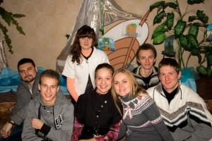 Мелитопольская молодёжь на семейном клубе