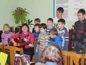 Музыкальное поздравление от детей