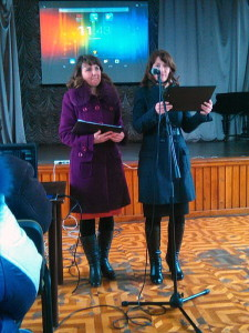 Ведущие программы Лилия и Светлана