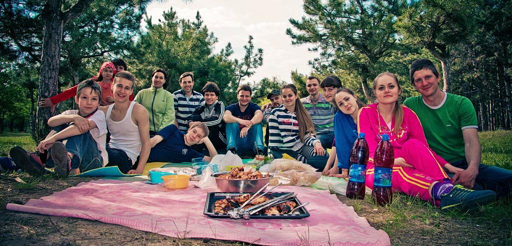 Мелитопольская молодёжь на природе