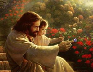 Христос и дитя