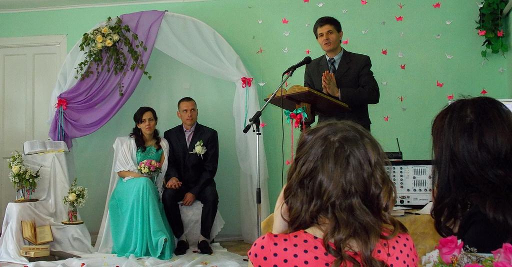 Свадьба в Первомайском