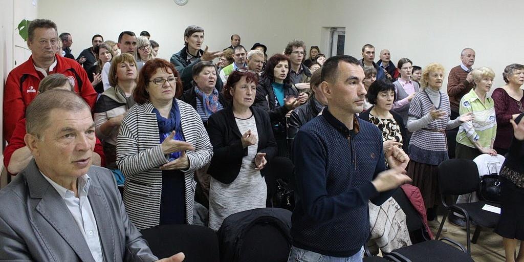 Глухие Украины на викторине Мир Библии