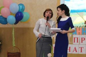 Ирина Франкив со своим руководителем