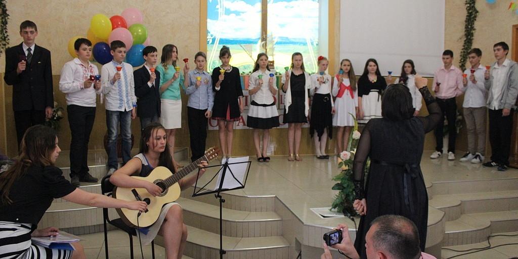Выступление учеников