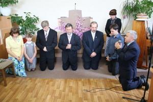 Молитва о семьях служителей