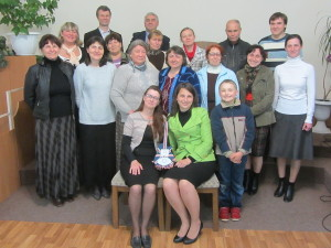 Семья Ярош с городским хором