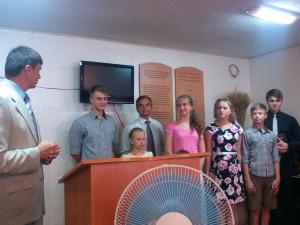 Представление пасторской семьи Козырь