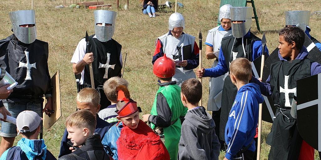Рыцарский турнир для учеников