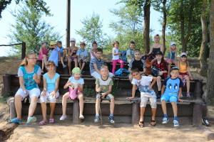 Участники каникуляронй школы
