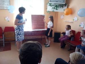 Ольга Мамутова с учениками
