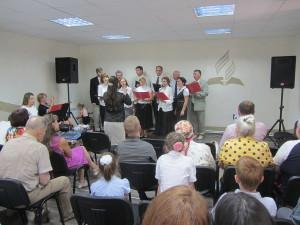 Посвящение дома церкви Кривой Рог-8