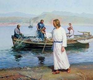 Иисус приглащает следовать за ним