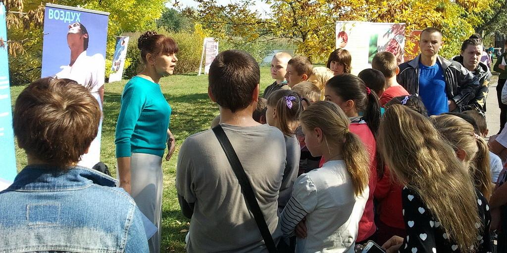 Фестиваль здоровья в городе Орехов