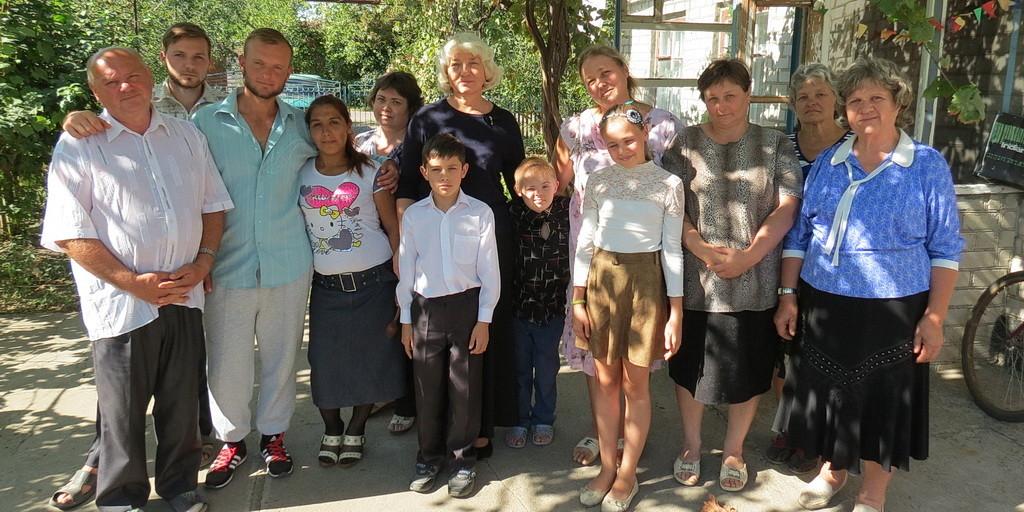 Жатва в Грушевке