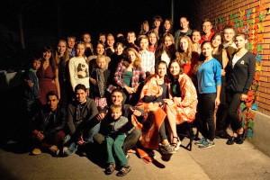 В Запорожье собралась молодежь из разных городов