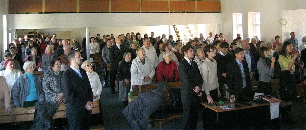 Тройную радость испытали Запорожские адвентисты на субботнем служении