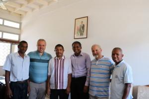Встреча с заместителем мера Sambava