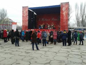 Сцена на Фестивальной площади